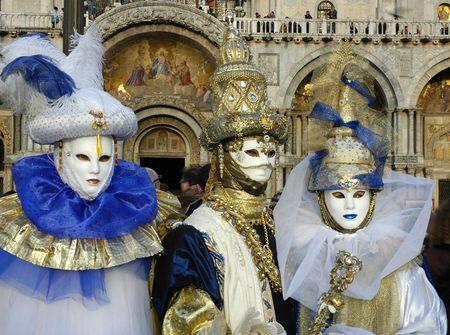 payaso: Carnaval de Venecia  Foto de archivo