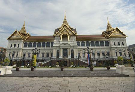 Chakri Maha Prasad,the Kings residence in Bangkok,Thailand photo
