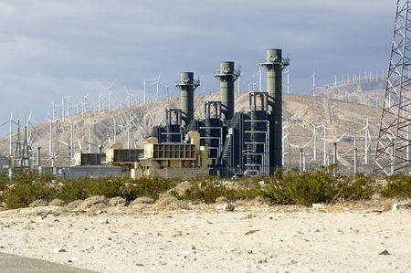 generates: electrical storage at windfarm that generates electricty