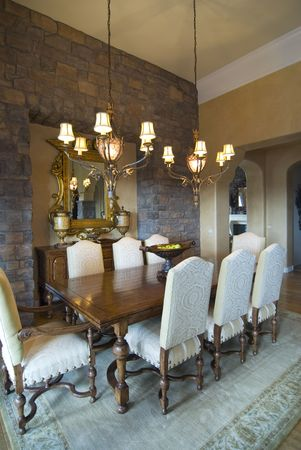 chandler: Upscale formal dining room