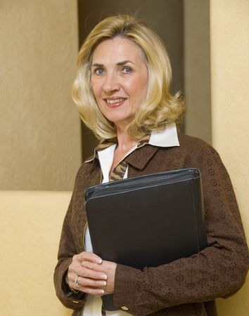 Portrait of mature and confident business woman Stock Photo - 2684152