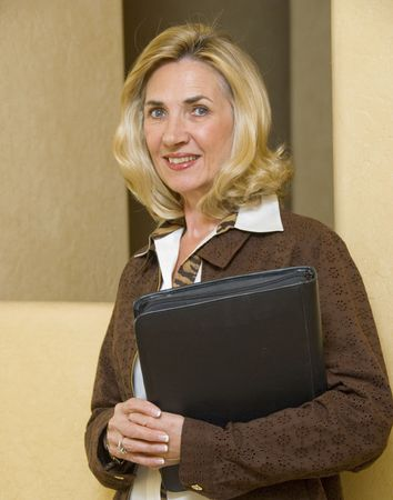 Portrait of mature and confident business woman Stock Photo - 2784254