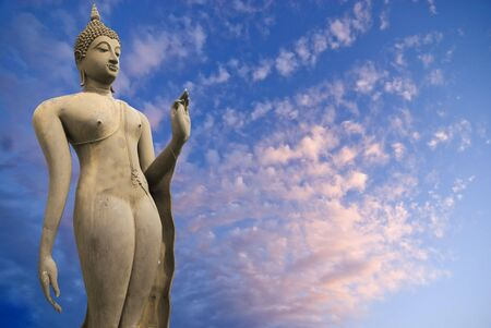 sukhothai: Statue of Buddha from the Ancient city of Sukhothai in Thailand