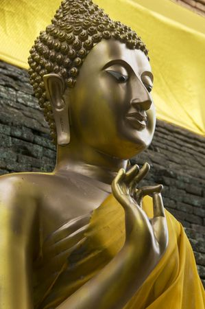 molee: Buddha statue at Wat Lok Molee