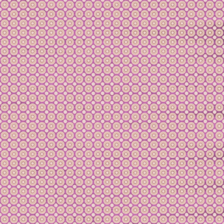 White and pink seamless circles pattern, textured background photo