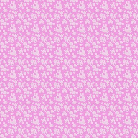 White and Pink seamless abstract geometric pattern, textured background photo
