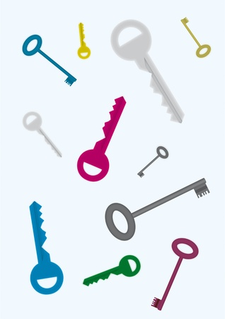 Keys Stock Vector - 12290860