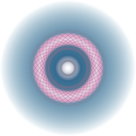 Particle in light with wired ring