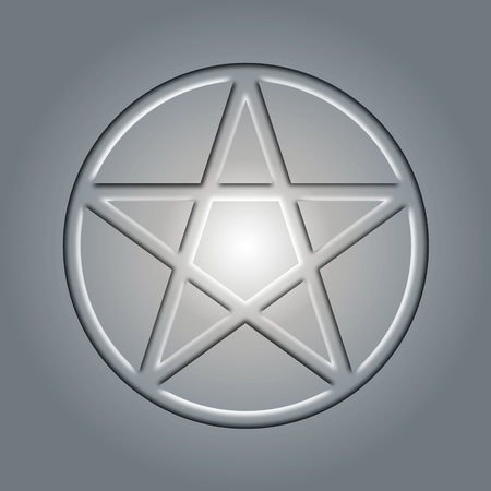 Pentagram Stock Vector - 13165399