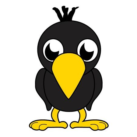 Litlle bird, birdie Vector
