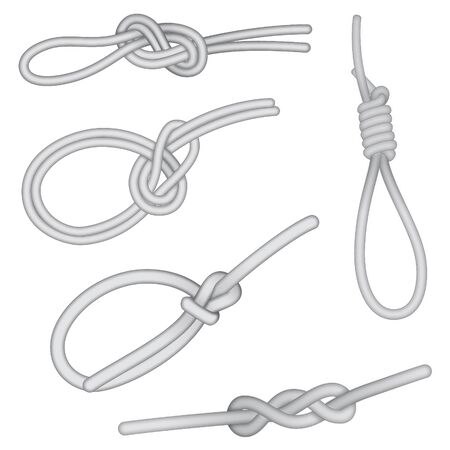 Set of knots Vector