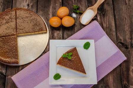 rum cake: Torta Albero con menta, cioccolato e rum e l'estratto vannila