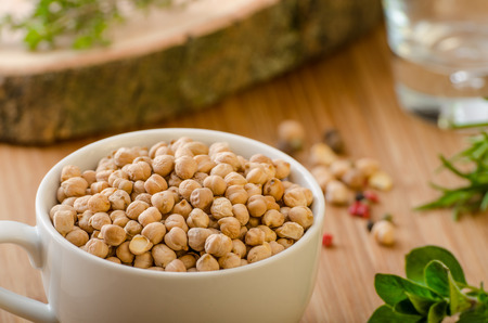 legume: Raw and healthy chickpeas, Simple but delicious legume used in Middle Eastern cuisine