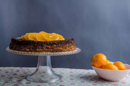 pastel: Orange cake with honey