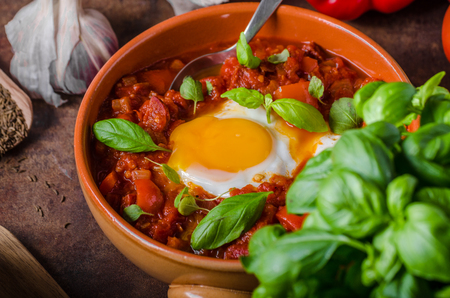Shakshuka simple and delicious, cheap but very tasty food!