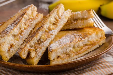 jelly sandwich: Peanut butter banana sandwich, great meal for breakfast