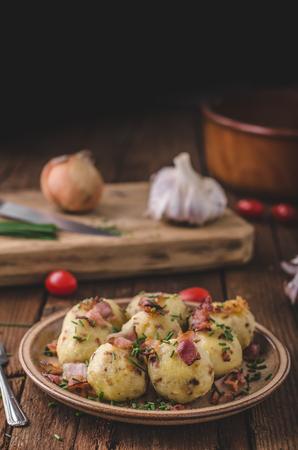 Bacon dumplings delish food, original czech food delish cheap