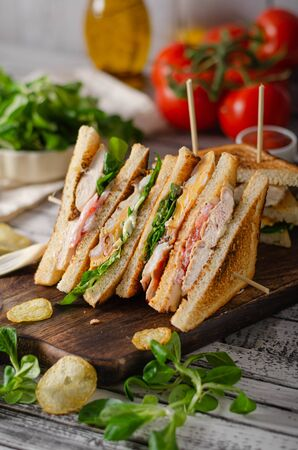 Simple but great sandwich, well known, fresh ingredience