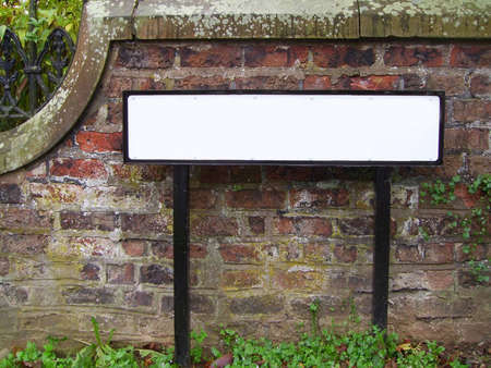 blank road sign: blank street name sign