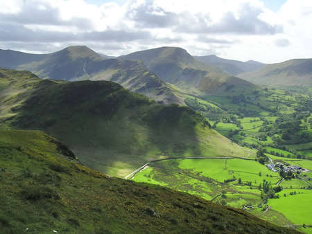 fells: The Derwent Fells of the English Lake District