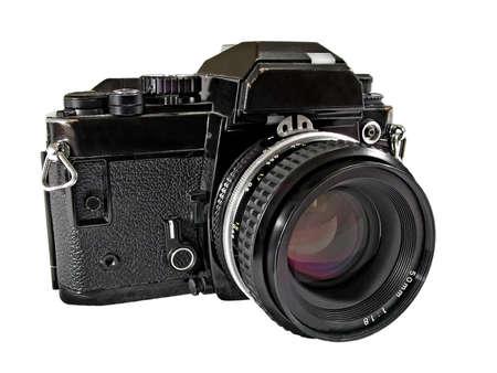 35mm SLR film camera photo