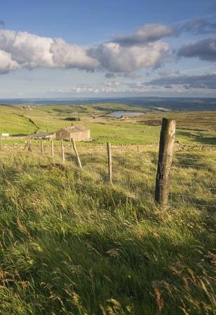 moorland: yorkshire moorland farm