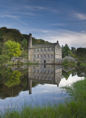 national trust: gibson mill Editorial