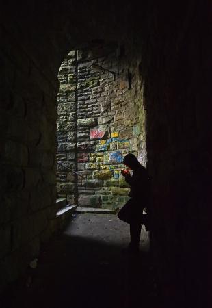 tearaway: hoodlum in dark subway