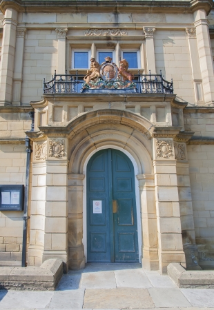 magistrates: magistrates court entrance