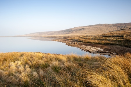 moorland: pennine moorland waterfall