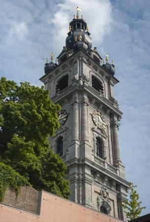 belfry: mons baroque belfry Editorial