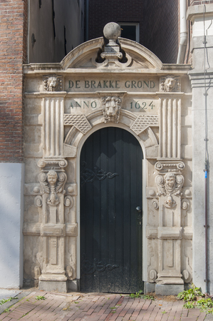entranceway: historic doorway amsterdam