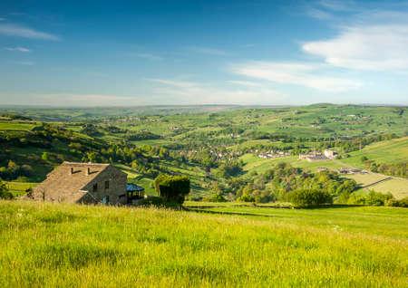 yorkshire dales: Yorkshire Dales paisaje Foto de archivo