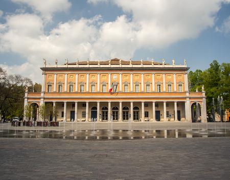 reggio emilia: Teatro Municipale Valli, Reggio Emilia, Italy Editorial