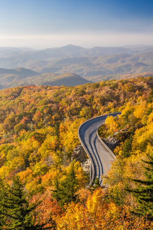 Blue Ridge Parkway in Autumn photo
