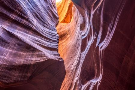 Antelope canyon Abstract Stock Photo - 25302856