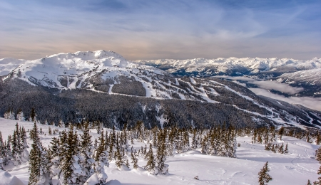 Whistler Mountain in Winter