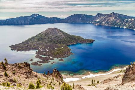 crater lake: Crater lake Scenery