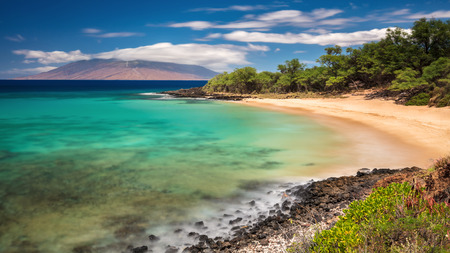 Dreamy long exposure of Little Beach on the Island of Maui, Hawaii Reklamní fotografie