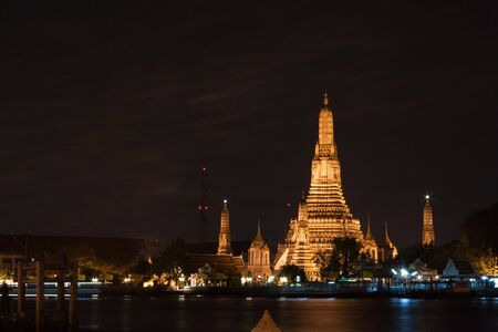 wat arun in Night time photo