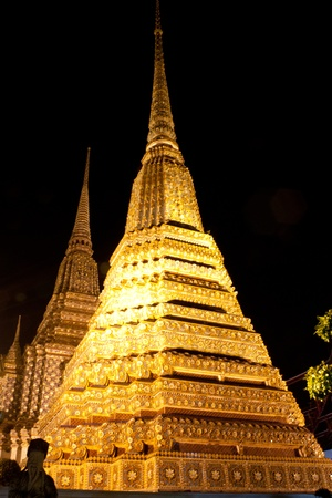 Thai Architecture in Wat Pho,Thailand  photo