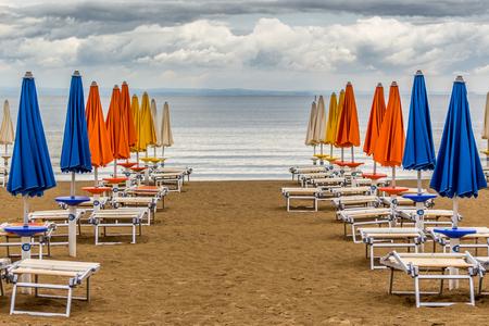 Lignano umbrellas