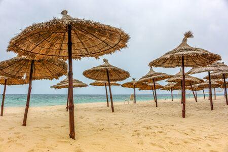 sunshades: Tunisia many sunshades