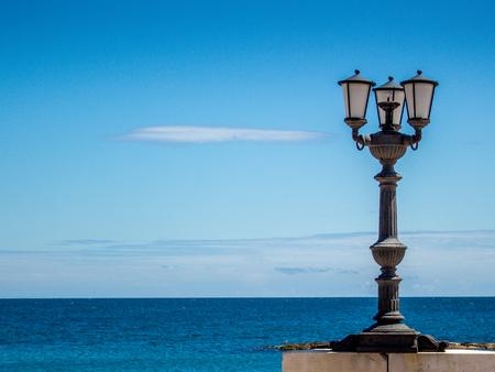 Bari-lantaarn Stockfoto