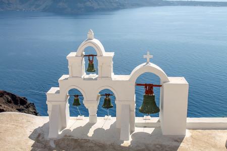 glock: belfry Santorini