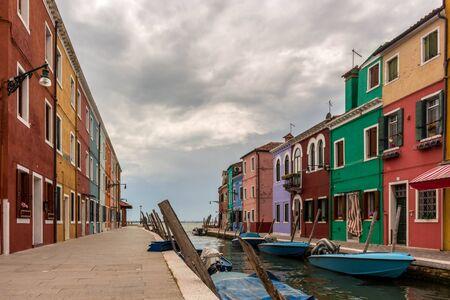 Venice Burano Editorial