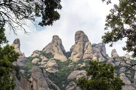 Montserrat Barcelona Rocks Imagens