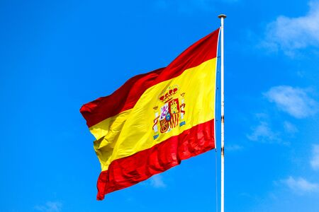 Spanish flag Stok Fotoğraf - 132010744
