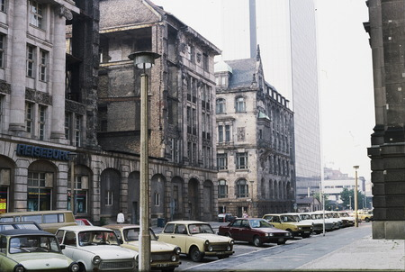 east berlin: East Berlin Trabant cars
