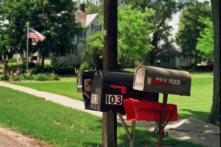Mailboxes - USA Stock Photo - 47930569